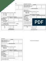 Formato de Costo Por Procesos