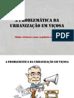 A Problemática da Urbanização em Viçosa-MG