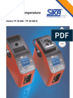 Tp 38 000 - Precision Temperature Calibrators