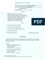 Writ of Summons - Umno Claim of Cash Seized at Najib's House