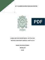 SOLUBILIDAD Y CLASIFICACIÓN POR SOLVENTES final.docx
