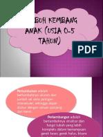 TUMBUH KEMBANG ANAK (USIA 0-5 TAHUN).ppt