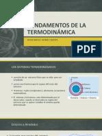 Fundamentos de La Termodinámica