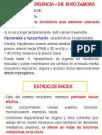 1°clase shock