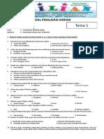 Soal Tematik Kelas 6 SD Tema 1 Subtema 3 Selamatkan Hewan Dan Tumbuhan Dilengkapi Kunci Jawaban (Ww.bimbelbrilian.com)