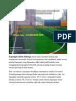 KUALITAS TERJAMIN, Jasa Kontraktor Lapangan Futsal Di Bekasi, WA 0821-8620-5040