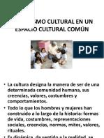 Pluralismo Cultural en Un Espacio Cultural Co Mún