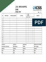 Audio Intercom Checklist