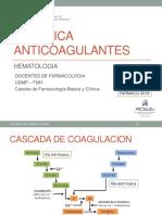 Practica 8 Anticoagulantes