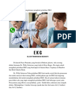 Pelatihan EKG | 08170825883 | Pengalaman Pelatihan Ekg