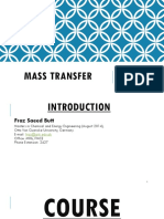 (Chapter. 1) Introduction to Mass Transfer