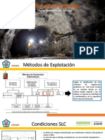 Metodo de Explotación - Sub Level Caving