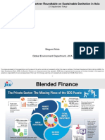 Financing Mechanisms for Sustainable Sanitation