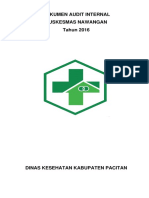Dokumen Audit Internal Puskesmas Nawangan