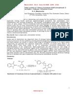 Synthesis and Antioxidant Activity of 7 Fluoro 3 Methoxy 3 [2(4 Nitrophenyl) 2 Oxoethyl] 1, 3 Dihydro 2H Indole 2 Ones