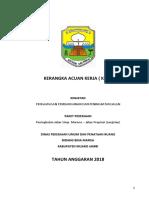 KAK PWS Marene - Jalan Provinsi - PPK