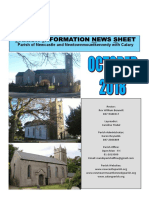 October 2018 Newsletter - Parishes of Newcastle & Newtownmountkennedy with Calary, in east Co. Wicklow