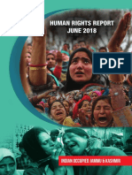 Human Rights Report January -May 2018