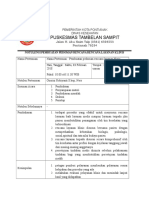 Notulen Rencana Pelayanan Klinis