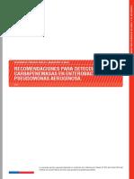 Recomendaciones Para Detección Carbapenemasas en Enterobacterias y Pseudomonas Aeruginosa.