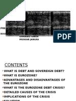 EUROZONE DEBT CRISIS 2009 FINAL.pptx