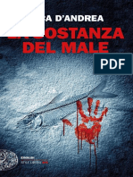La Sostanza Del Male - Luca D'Andrea