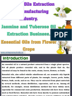 Essential Oils Extraction and Manufacturing Industry