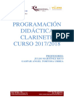 Programacion Clarinete 2
