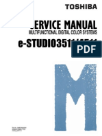 Toshiba E-Studio 3511-4511 Service Manual