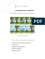 Requirements Engineering — Introduction (Part 1)