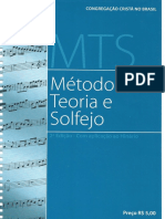 CCB- Metodo de Teoria e Solfejo (MTS)