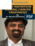 Good Nutrition during Cancer Treatment   Best Cancer Treatment in Bangalore