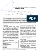 Artery First Approach to Pancreatic Cancer Resection a Review of the Evidence for Benefit