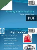 Patologie Mediastinala f
