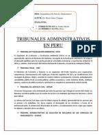 TRIBUNALES ADMINISTRATIVOS