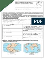 Guía de DINAMICA DE LA TIERRA 7° TIPO 2
