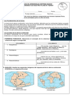 Guía de DINAMICA DE LA TIERRA 7°