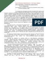 Oil of Lavandula Angustifolia on Amyloid Beta Polymerization