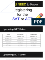 junior  how to register for the sat or act