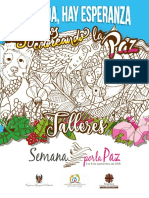 Talleres Semana Por La Paz 2018