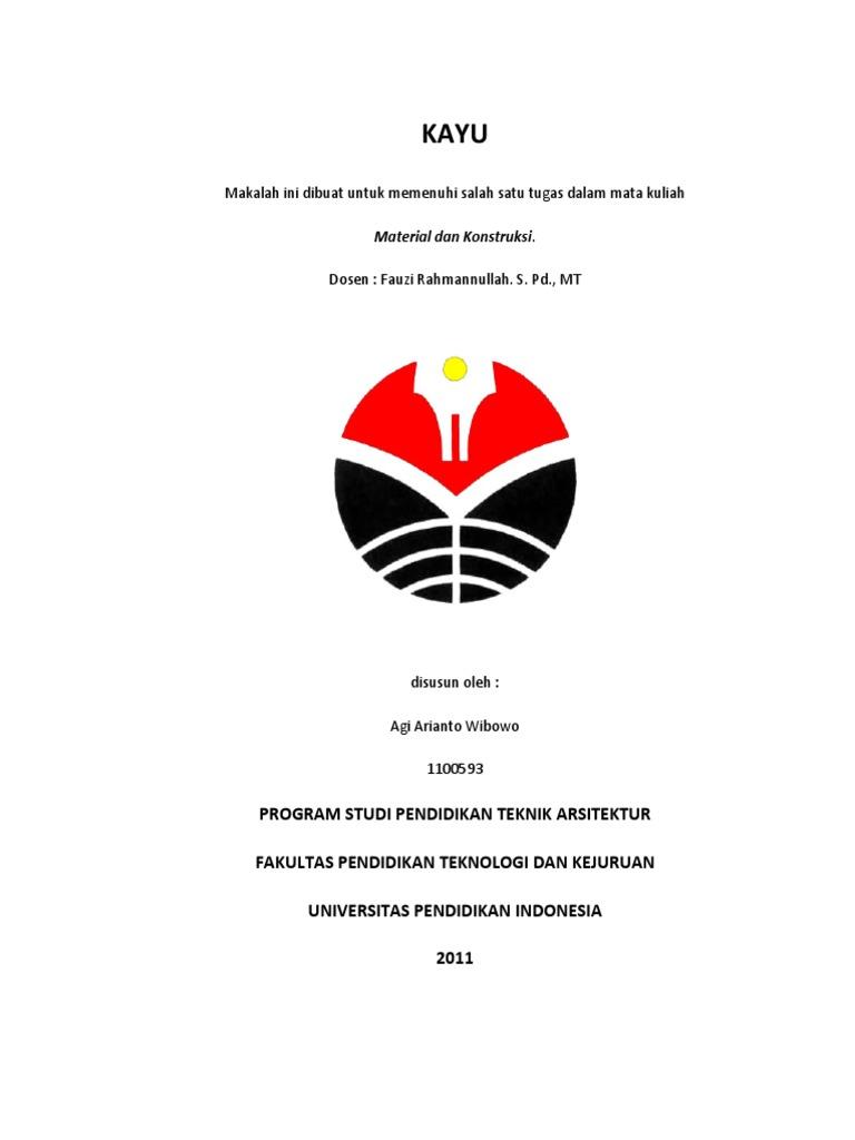 Material Dan Konstruksi Kayu Pdf