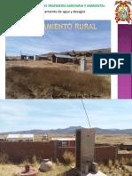Saneamiento Agua y Desagüe Rural
