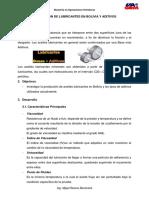 Producción de Lubricantes en Bolivia y Aditivos - Mijael Ramos