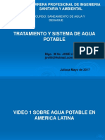 Ponencia Agua Potable