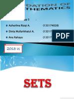 Sets (Foundation of math)