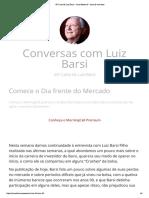 45ª Carta de Luiz Barsi – Suno Research – Area de membros