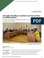 CDR Torra Presion.