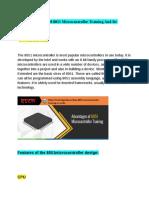 8051 microcontroller Training