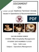 operations assignment costa coffee coffee drink rh scribd com Pacific Coffee Costa Coffee Locations