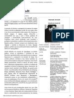 Hannah Arendt – Wikipédia, A Enciclopédia Livre